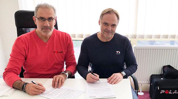 Polar hivatalos viszonteladói szerződés aláírása